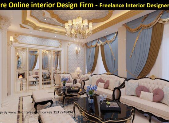 Hire Online interior design Firm