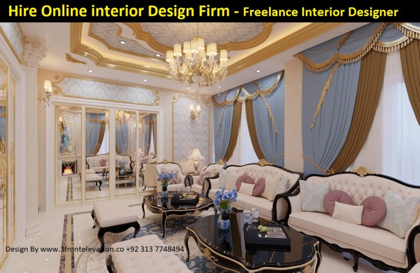 Hire Online interior design Firm
