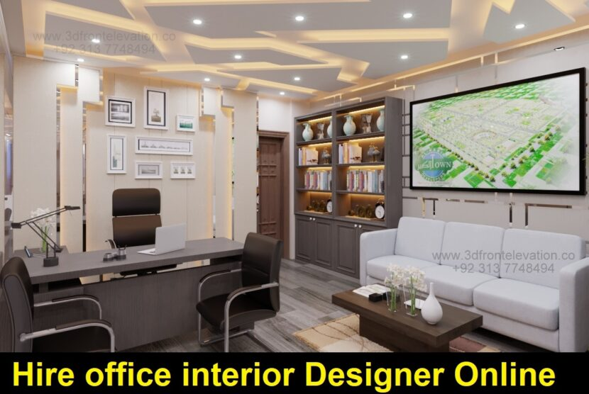 Hire office interior designer online