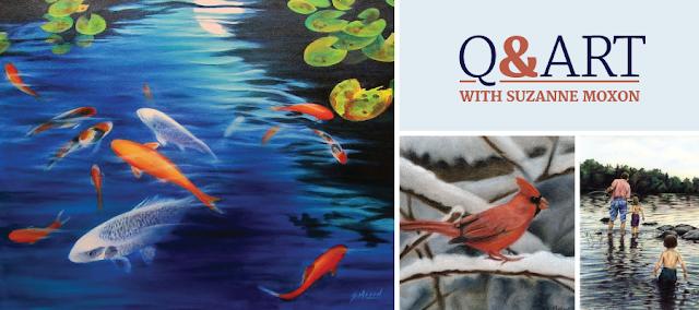 Q&Art with Suzanne Moxon