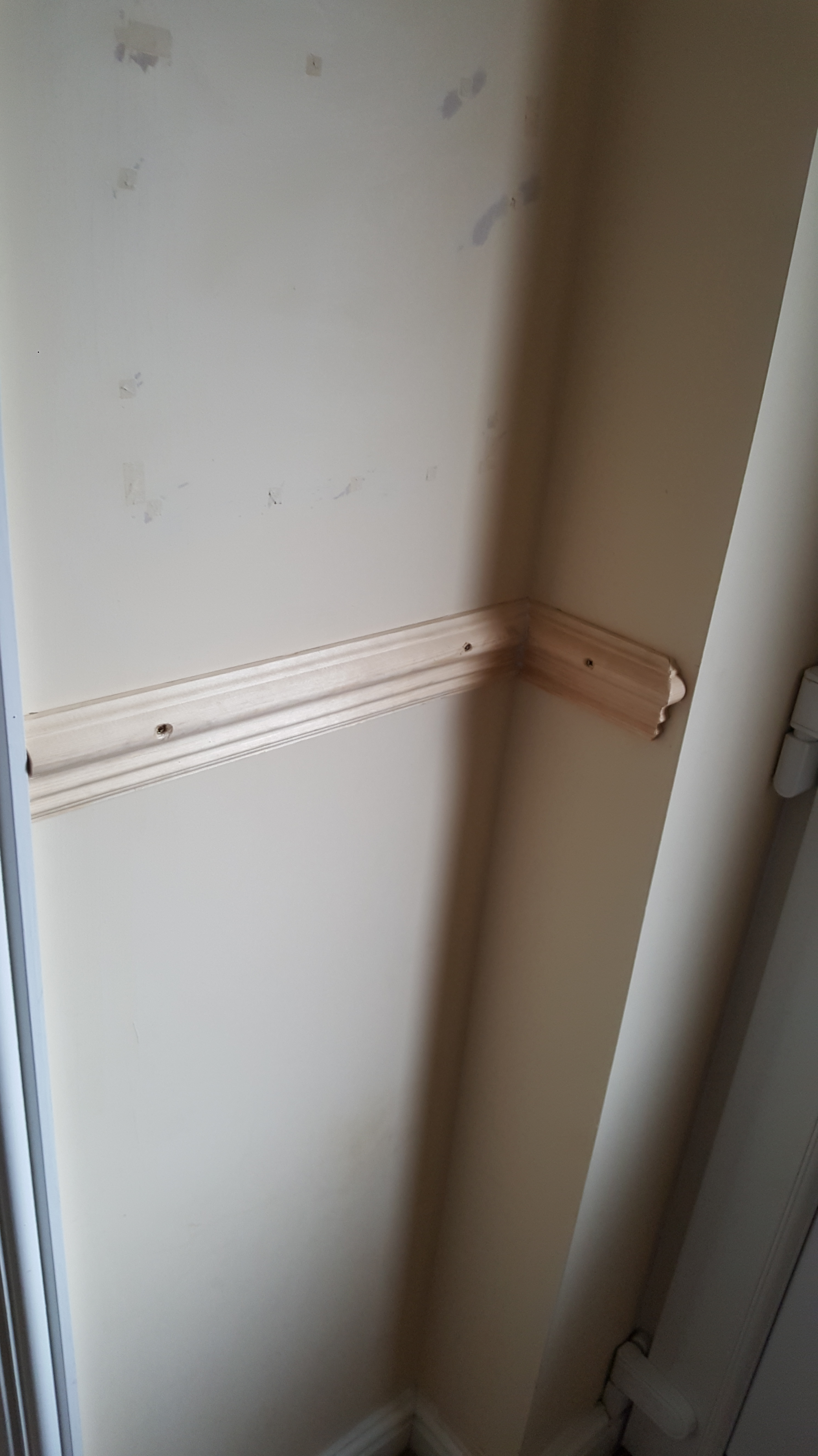 new dado rail fitted