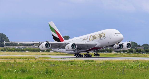 emirates airplane