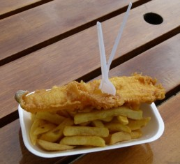 Comida Tradicional Inglesa Fish and Chips