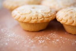 Comida Inglesa Tradicional de Natal Mince Pie