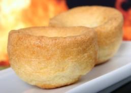 Comida Inglesa Yorkshire Pudding