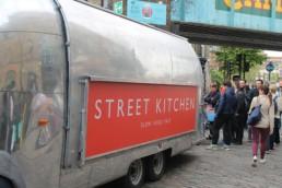 Comida de Rua em Londres