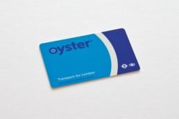Cartão Metro em Londres OysterCard
