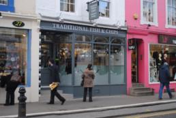 Restaurante The Fish House em Notting Hill