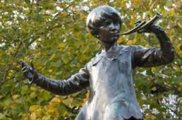 Kensington Gardens Estátua do Peter Pan