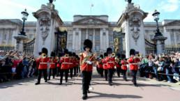 Troca da Guarda em Londres