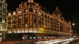 Fachada Loja Harrods em Londres