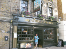 pub Prospect of Whitby em Londres