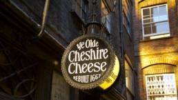 Pub Ye Olde Cheshire Cheese em Londres