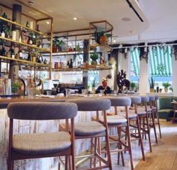 Restaurante Vegetariano Farmacy em Londres