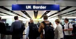 Imigração no Aeroporto de Londres