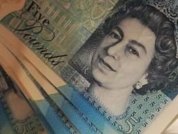 Libra Esterlina Dinheiro Inglês