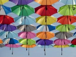 Guarda chuva em Londres