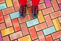 Sapatos confortáveis em Londres
