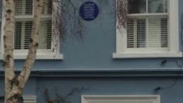 Conheça as placas azuis de Londres