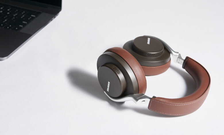 SHURE LAUNCHES NEW AONIC WIRELESS NOISE CANCELLING HEADPHONES