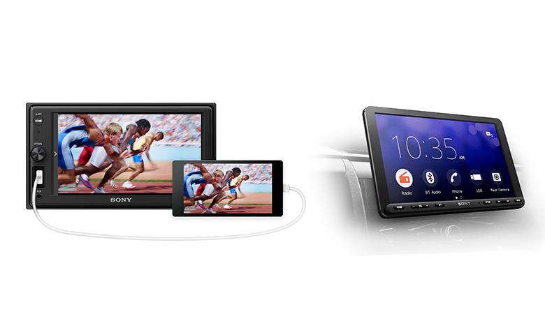 Smart Sony Car Media
