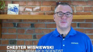 Chester Wisniewski principal research scientist Sophos