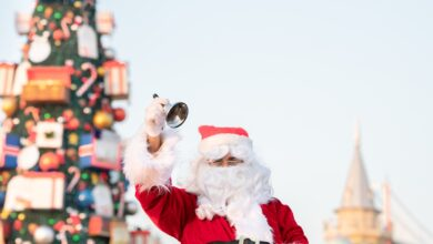 Santa at Global Village