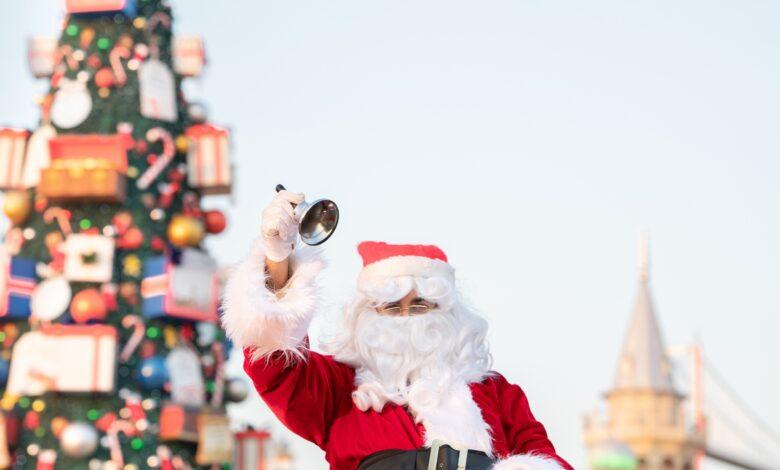 Santa at Global Village