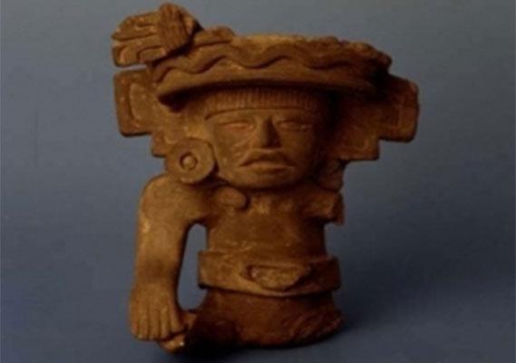 oggetti misteriosi antichi statuetta-azteca