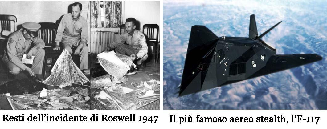 incidente-rowell-e-aereo-stealth-f117 video interrogatorio alieno