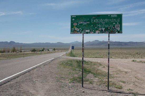 cartello Extraterrestrial Highway
