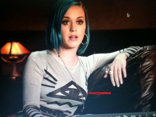 Katy Perry durante un' intervista
