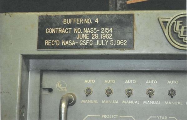 etichetta computer nasa
