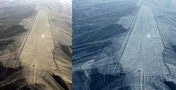 Le Linee di Nazca piste giganti