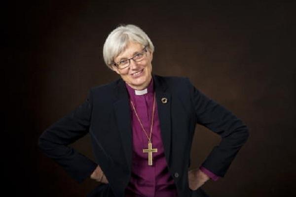 Arcivescovo Antje Jackelén la chiesa di Svezia