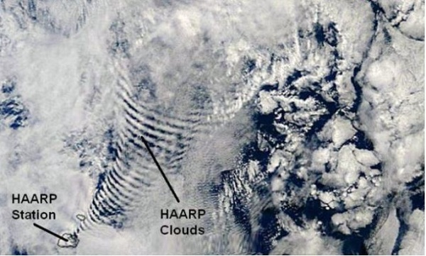 haarp schemi unici di nuvole