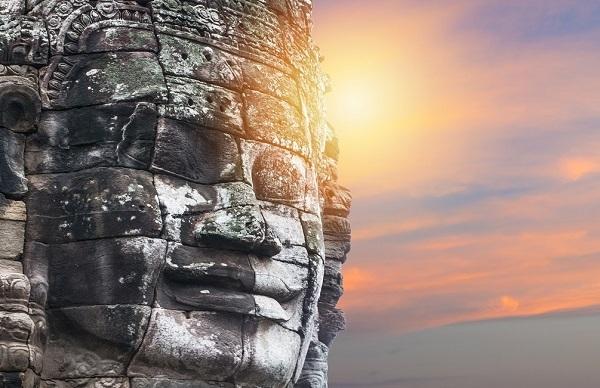 Complesso dei templi di Bayon Faccia