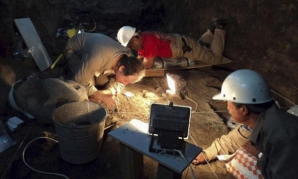 Gli archeologi trovano mercurio liquido a Teotihuacan