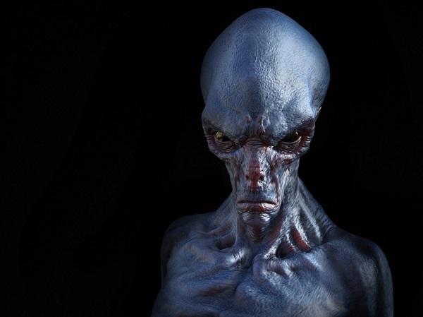 alieno esseri interdimensionali