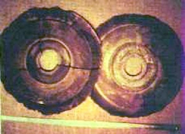 disco di pietra dropas