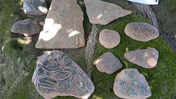 manufatti in pietra ritrovati