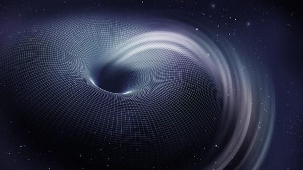 viaggiare nel tempo attraverso un buco nero