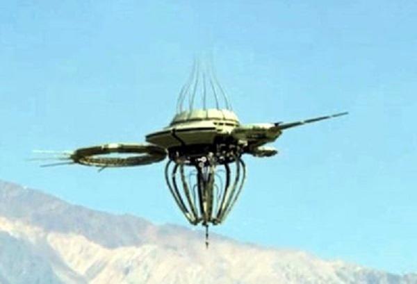 ufo drone libellula