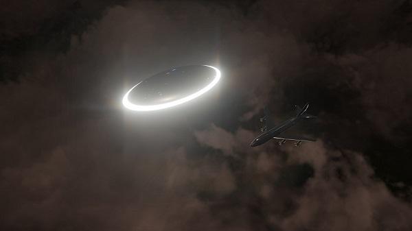 aeroplano e ufo