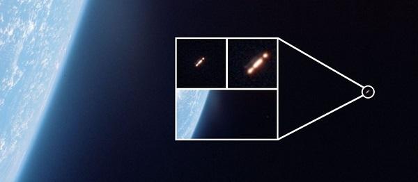 oggetto fotografato dalla missione gemini 10 della nasa