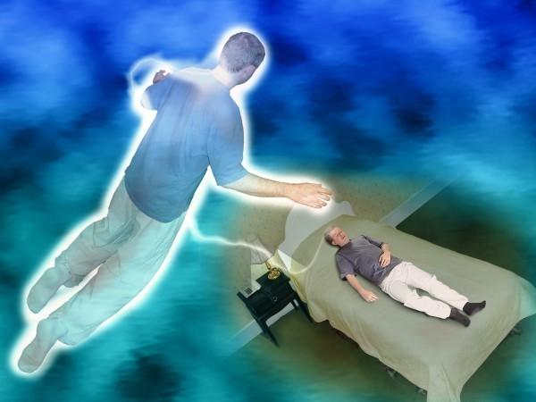 consapevolezza di essere sopra il tuo corpo o morto