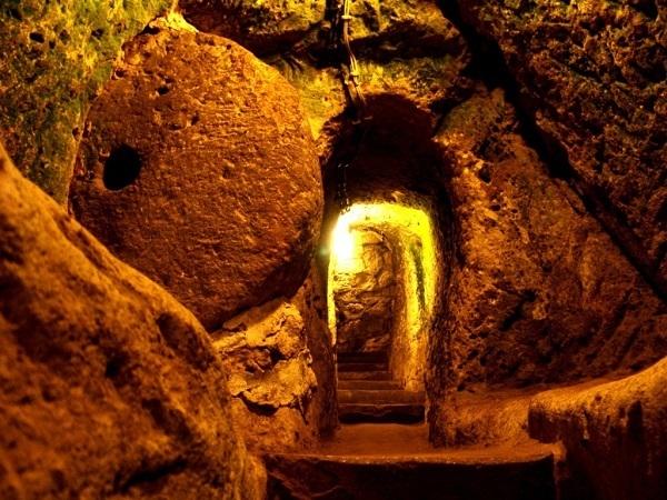 rovine sotterranee Derinkuyu 2