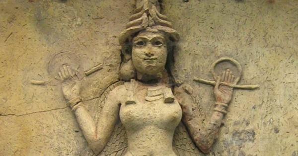 La dea Inanna