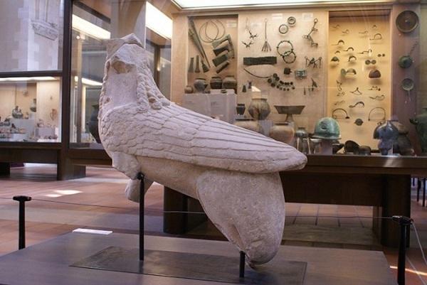 Sfinge mesopotamica ritrovata ad Agost