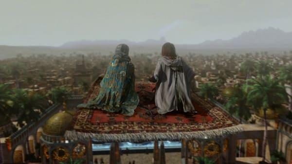 re Salomone e il tappeto volante